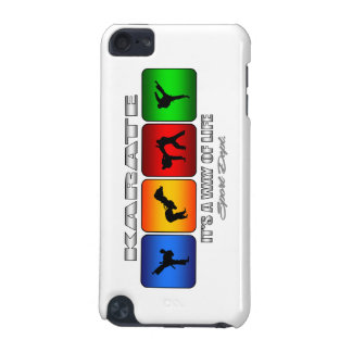 Cool Karate It Is A Way Of Life iPod Touch 5G Cases