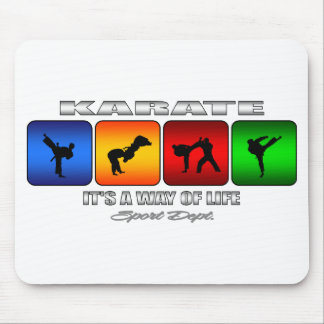 Cool Karate It Is A Way Of Life Mouse Pad