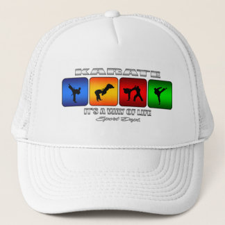 Cool Karate It Is A Way Of Life Trucker Hat