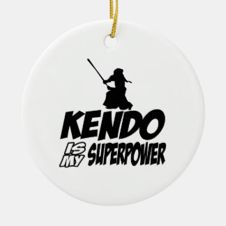 Cool KENDO designs Ceramic Ornament