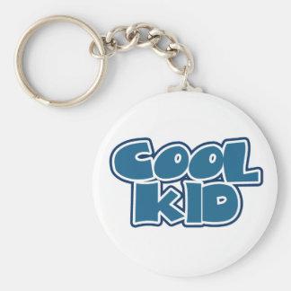 Cool Kid Basic Round Button Key Ring