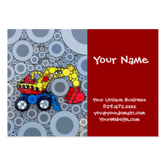 Cool Kids Construction Truck Excavator Digger Pack Of Chubby Business Cards