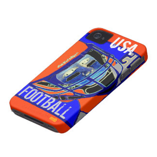 Cool Kids Football Art iPhone 4S & 4 Case Gift