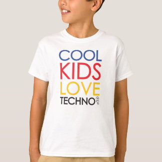 Cool Kids Love Techno Shirt