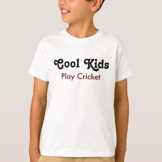 Cool kids Play cricket T-Shirt