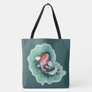 Cool Koi Fish Tote Bag
