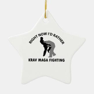 cool Krav maga  designs Christmas Ornaments