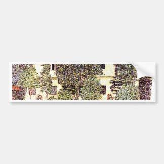 Cool landscape - Gustav Klimt Bumper Sticker