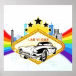 Cool Las Vegas vector Poster