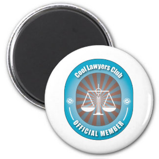 Cool Lawyers Club 6 Cm Round Magnet
