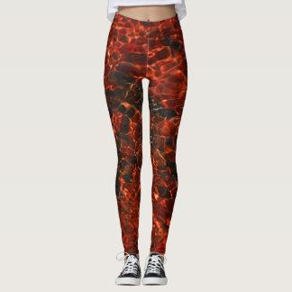 "Cool leggings ""Fire"""