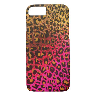 Cool Leopard print skin bright rough background iPhone 7 Case