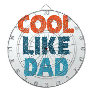 cool like dad dartboard