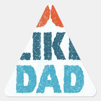 cool like dad triangle sticker