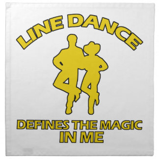 cool Line dance designs Napkin