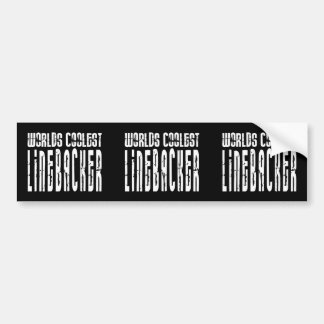 Cool Linebackers : Worlds Coolest Linebacker Car Bumper Sticker