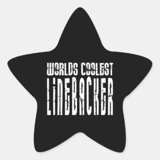Cool Linebackers : Worlds Coolest Linebacker Star Sticker