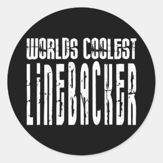 Cool Linebackers : Worlds Coolest Linebacker Round Sticker