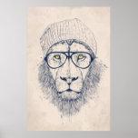 Cool lion