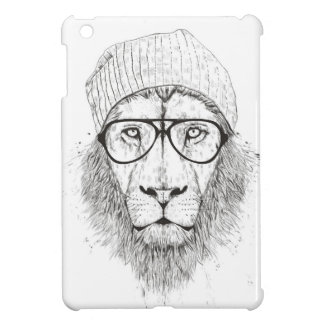 Cool lion (blackandwhite) case for the iPad mini