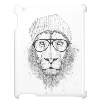 Cool lion (blackandwhite) iPad covers