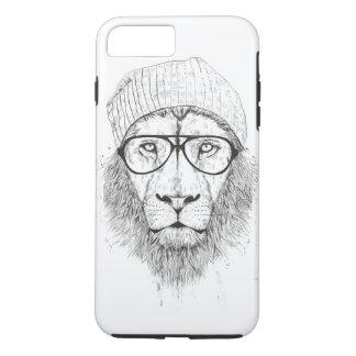 Cool lion (blackandwhite) iPhone 8 plus/7 plus case