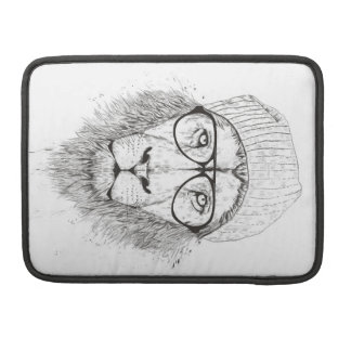 Cool lion (blackandwhite) sleeve for MacBook pro