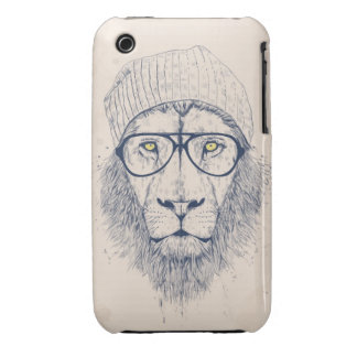 Cool lion iPhone 3 Case-Mate cases