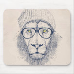 Cool lion mousepads