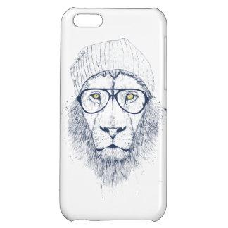 Cool lion (white) iPhone 5C case