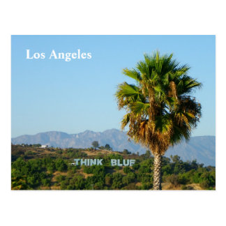 Cool Los Angeles Postcard! Postcard