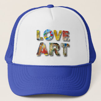 Cool Love Art Famous Masters For Peace Funny Trucker Hat