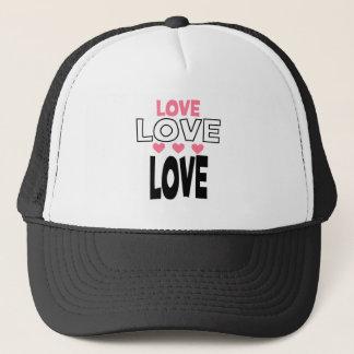 cool love designs trucker hat