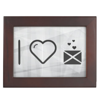 Cool Love Letters Memory Boxes