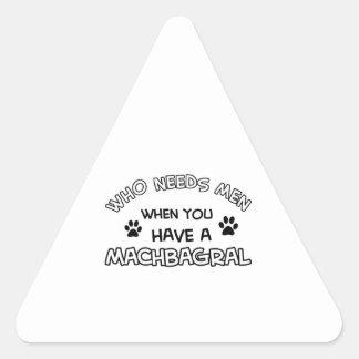 Cool MACHBAGRAL designs Triangle Sticker