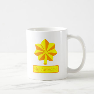 Cool Major Awesome soldier design Coffee Mug