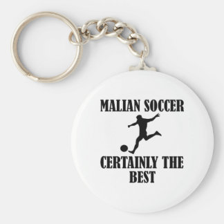 cool Malian soccer designs Key Chain