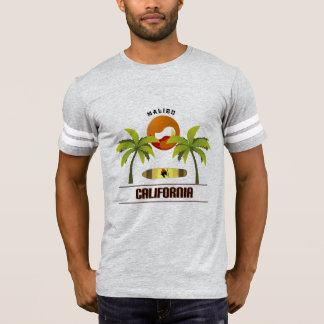 """Cool """"Malibu California"""" T-shirt for men"""
