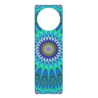 Cool mandala door knob hanger