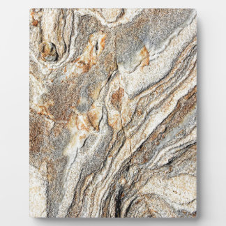 Cool Marble Texture Pattern Plaque