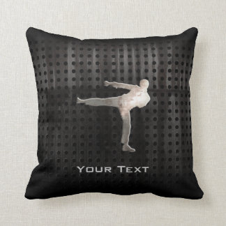 Cool Martial Arts Throw Pillow