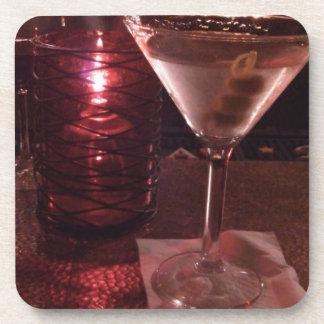 Cool Martini Beverage Coaster