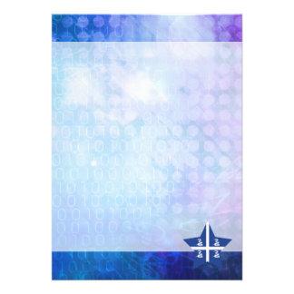 Cool Martinique Flag Star 13 Cm X 18 Cm Invitation Card