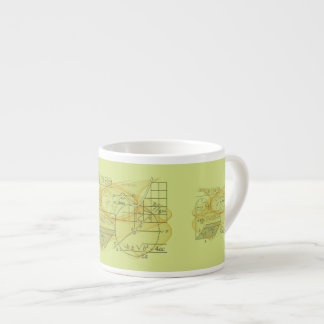 Cool Mathematics Physics Science Espresso Mug