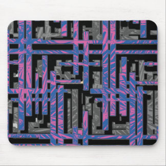 Cool Maze Mouse Pad