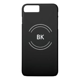 Cool Mens Business Monogram Design iPhone 7 Plus Case