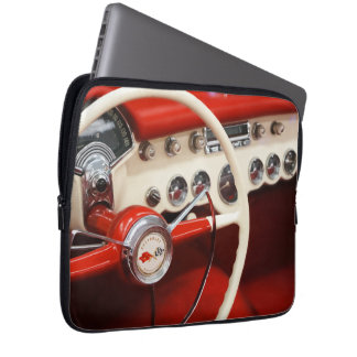 Cool Mens Classic Car Theme Laptop Sleeve
