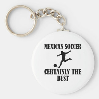 cool Mexican soccer designs Key Chains