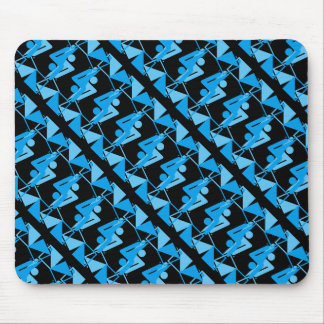 Cool Mirrored Geometric & Abstract Pattern Mouse Pad