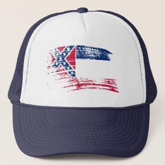 Cool Mississippian flag design Trucker Hat